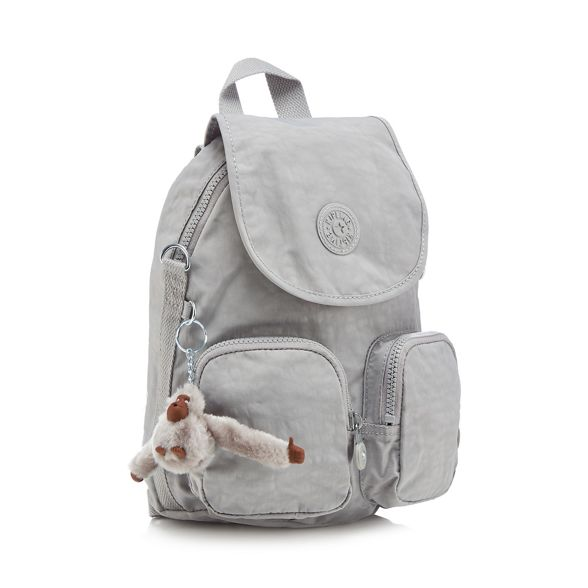 'Firefly Up' Kipling Grey Grey backpack Kipling xFwtq0zB0Y