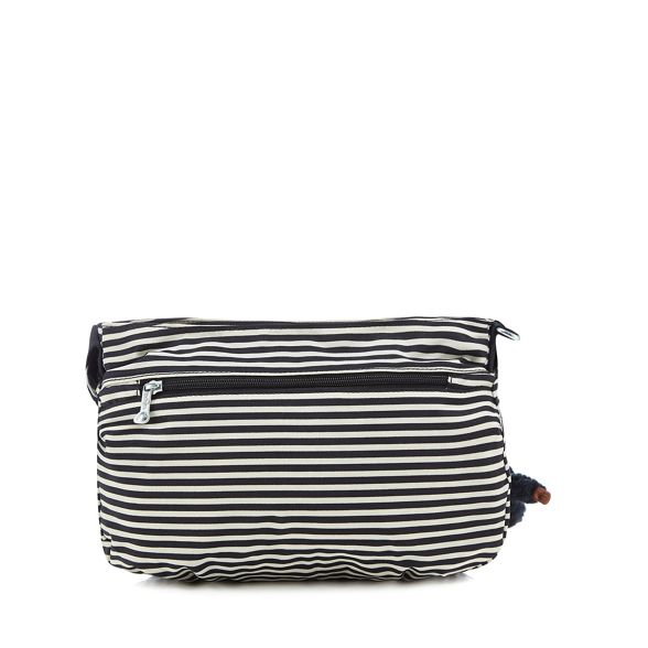 'Syro' bag Kipling cross Navy striped body EEqfYR