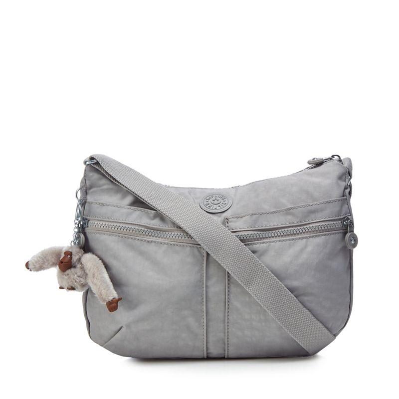 Kipling - Grey Izellah Cross Body Bag