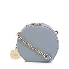 Faith - Light blue circle cross body bag