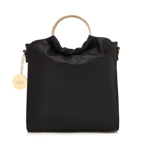 slouch circle bag grab handle Faith Black XPzxtt