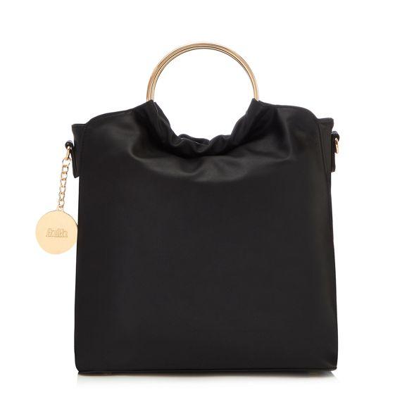 handle grab slouch Faith circle bag Black AqwEZ1H