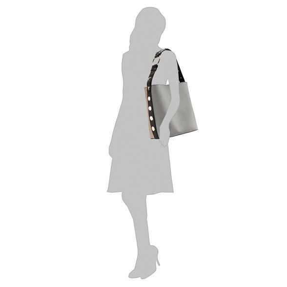shoulder Faith bag studded Grey Faith Grey 5IXqwZW