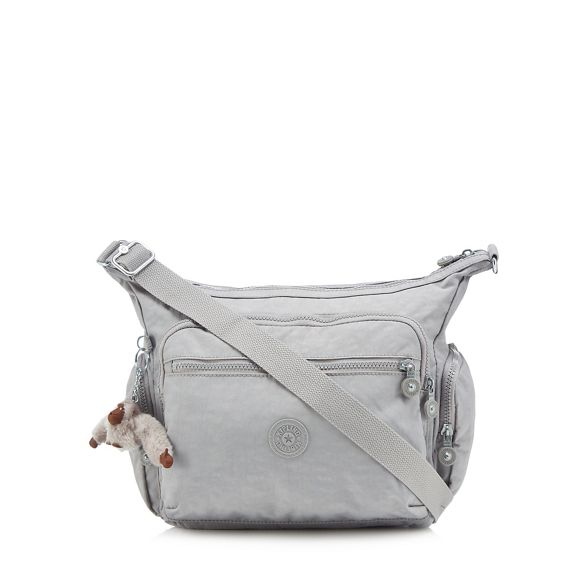 Kipling cross Grey bag 'Gabbie' body rTYrUqa