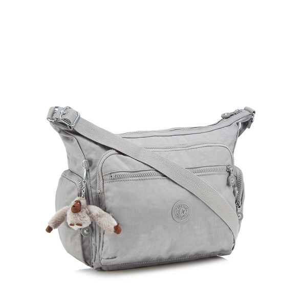 Grey 'Gabbie' bag body Kipling cross 8Rdn5Cqw