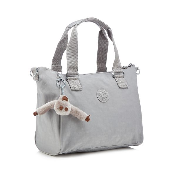 Kipling Grey Kipling bag 'Amiel' Grey grab Ed8gqOEw