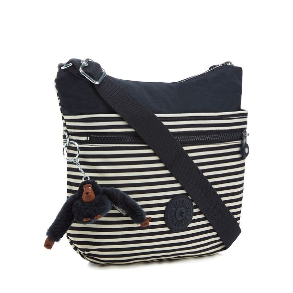body Kipling bag Navy striped cross 'Arto' If7fRF