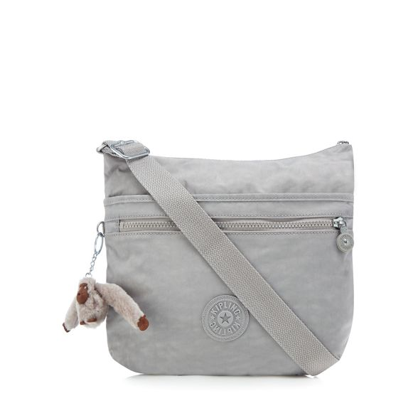 'Arto' Grey cross Kipling body bag 5F4xB