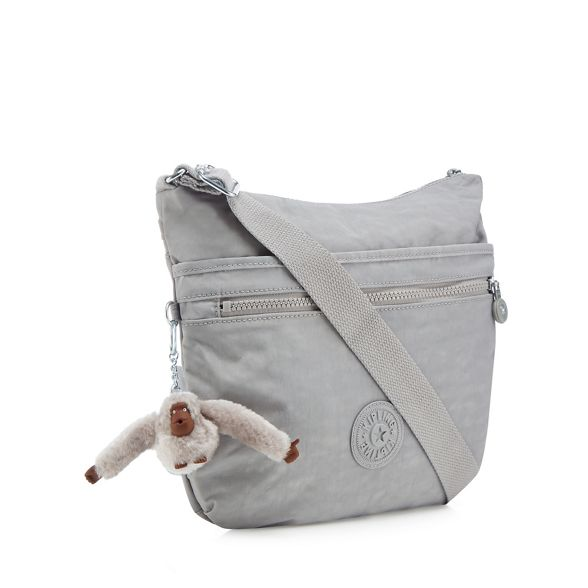 cross Kipling Grey 'Arto' body bag q4aEnfwxTC