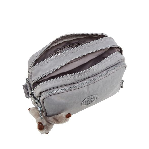 bag 'Silen' Grey cross body Kipling HITAZA