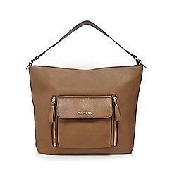 Kangol - Tan large pocket shoulder bag