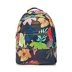 Kangol - Multi-coloured floral print backpack