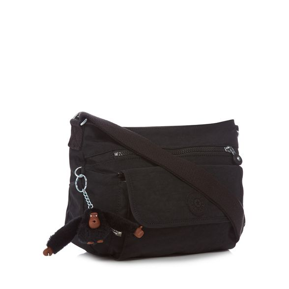 Black Kipling bag cross body 'Syro' vpqOSw7Wp