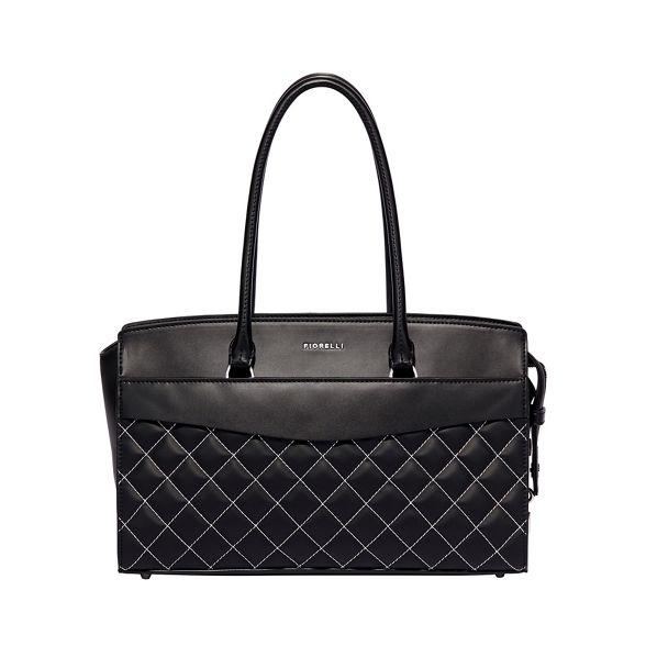 flapover tote Black bag islington Fiorelli EwUqTZ