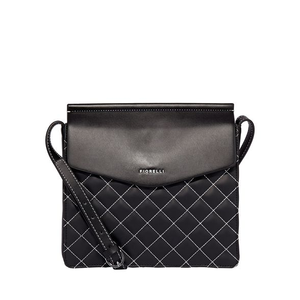 Black mia crossbody large Fiorelli bag qv1T8ZTx
