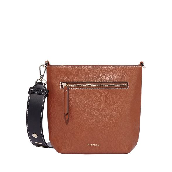 Tan bucket crossbody Fiorelli bag zeplin PRqqxv