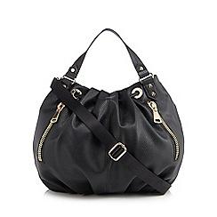 Star by Julien Macdonald - Black large hobo bag