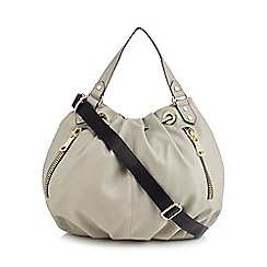 Star by Julien Macdonald - Grey large hobo bag