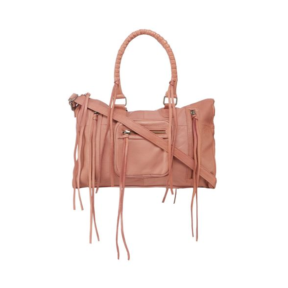 leather grab and Day bag 'Rose' Mood Pink twv7x76qU