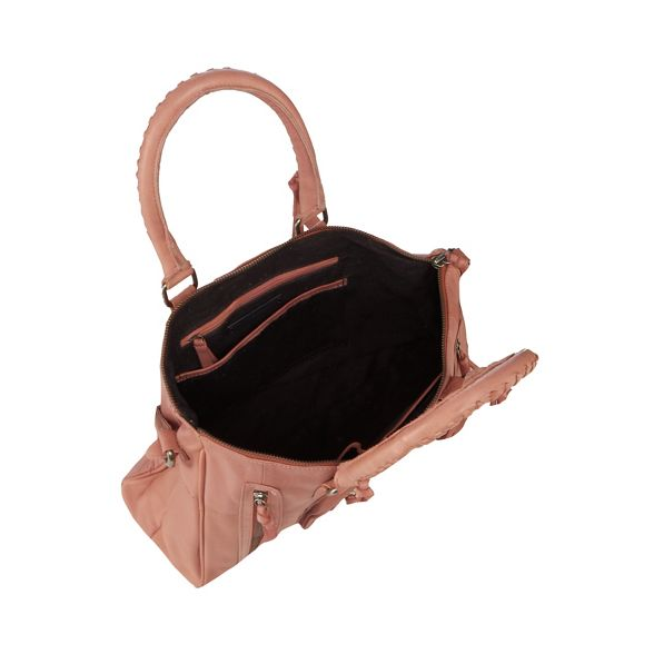 'Rose' Mood and leather Day Pink grab bag gqIdg5w
