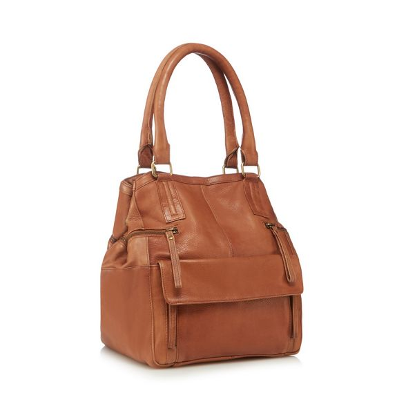'Hannah' Mood bag Day leather Tan and grab x6xqIF