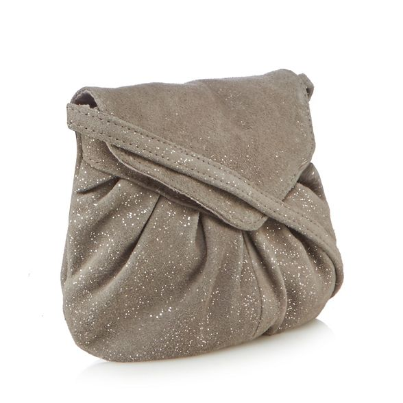 suede body mini Mood bag cross Day Silver 'Elderflower' and wpUqCO