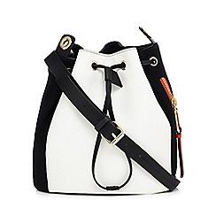 Star by Julien Macdonald - Black zip detail duffle bag