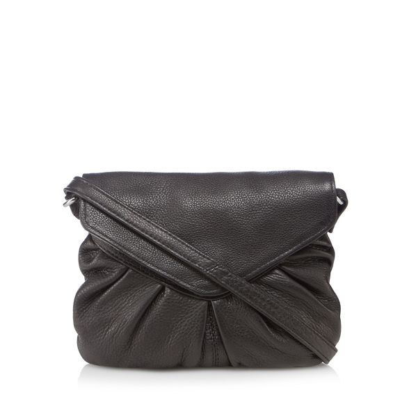 mini 'Elderflower' Black leather and Day Mood cross body bag 46qwFZX1Zn