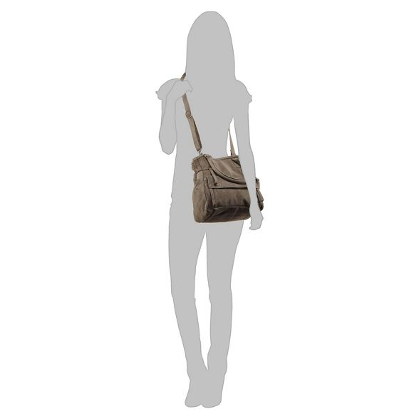 and Day Grey Mood 'Hannah' bag shoulder suede n0qPdwxqC