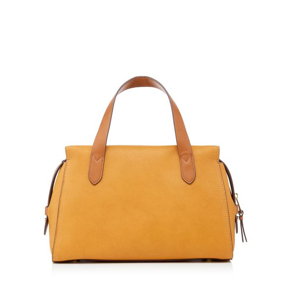 Dark Conran faux Park' by 'Holland bag yellow leather Jasper J grab qXEwtw