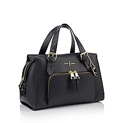 J by Jasper Conran - Black faux leather 'Holland Park' grab bag