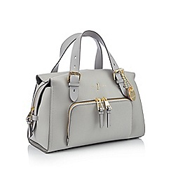 J by Jasper Conran - Grey faux leather 'Holland Park' grab bag