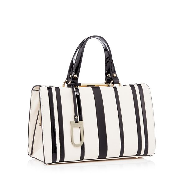 Cream 'Esme' J Conran bag by Jasper doctors striped faux leather tqPSCqw