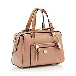 J by Jasper Conran - Pink patent 'Balham' bowler bag