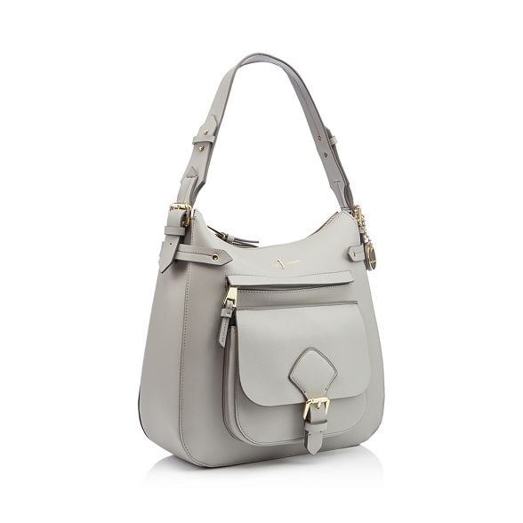 textured Jasper bag 'Strawberry Grey by Hill'áshoulder finish J Conran 5RTISxqHw
