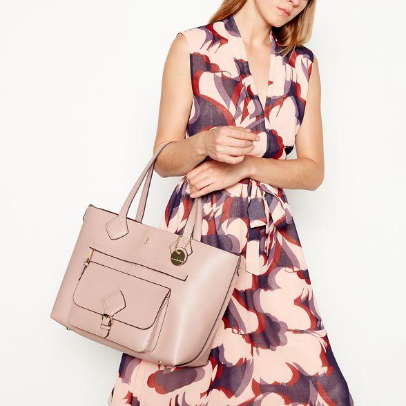 'Strawberry Jasper finish by Pink Conran shopper bag Hill' textured J 4F56qYX5w