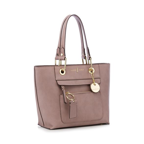 J 'Richmond' mini detail front tote Pale zip by Conran Jasper pink bag
