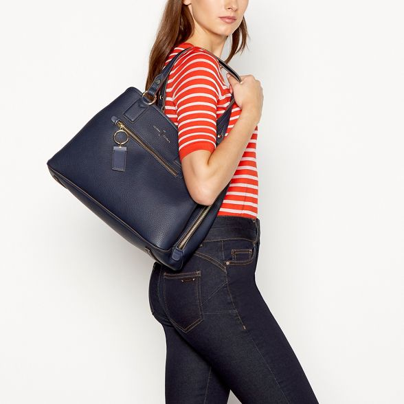 J Work 3 Bag by Conran 'Richmond' Jasper Section Navy qxRqwar