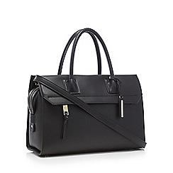 J by Jasper Conran - Black 'Belvedere' grab bag