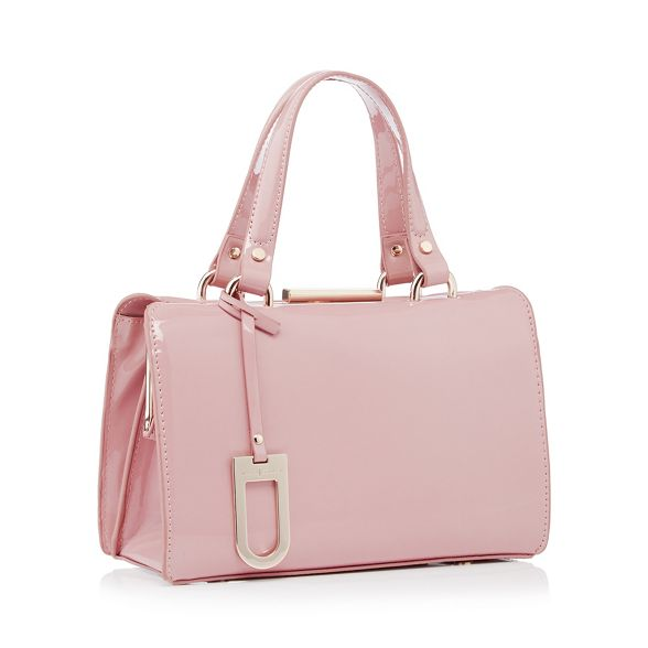 Jasper 'Esme' small Conran pink Light grab patent J bag by C5x6n1A
