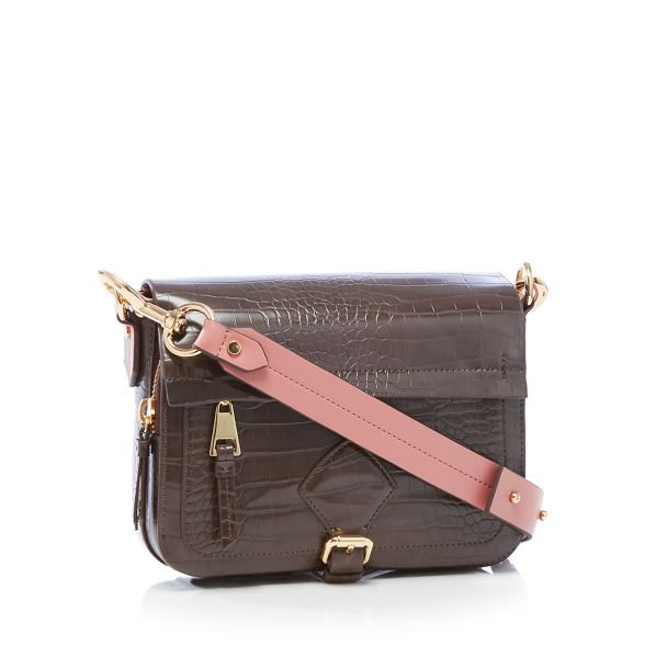 body 'Strawbery Hill' by Chocolate leather faux Conran cross J bag Jasper fzqxY04