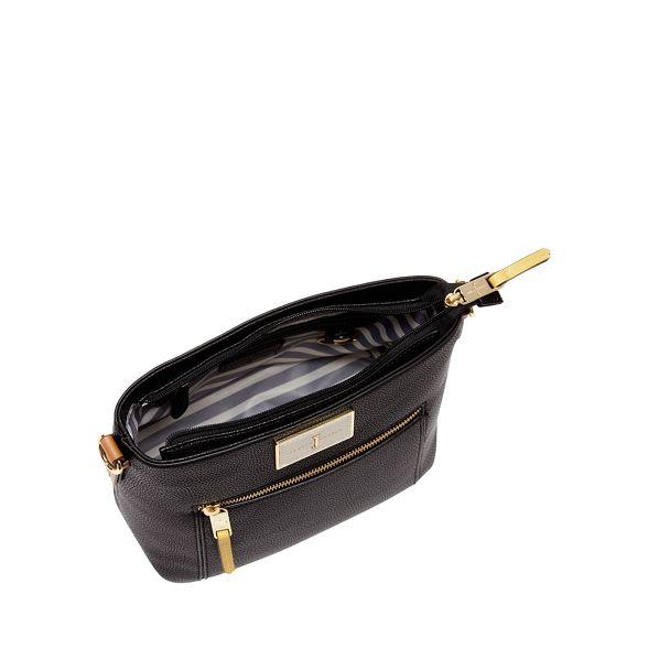 cross body faux Conran J Jasper leather textured bag by Black WSFWpa0q7
