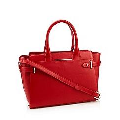 J By Jasper Conran Red Brompton Leather Bag