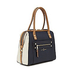 J by Jasper Conran - Multicoloured stud detail bowler bag