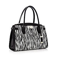 J by Jasper Conran - Multicoloured zebra print shoulder bag