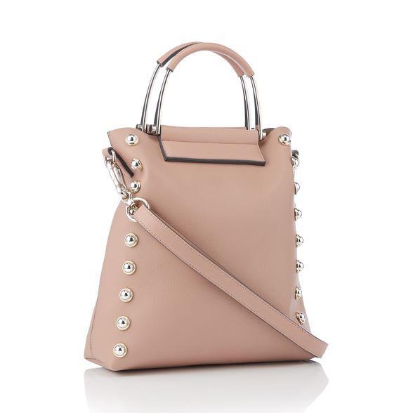 by grained Natural trim Macdonald bag grab stud Star Julien wgdxHUqw