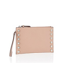 Star by Julien Macdonald - Natural studded trim clutch bag