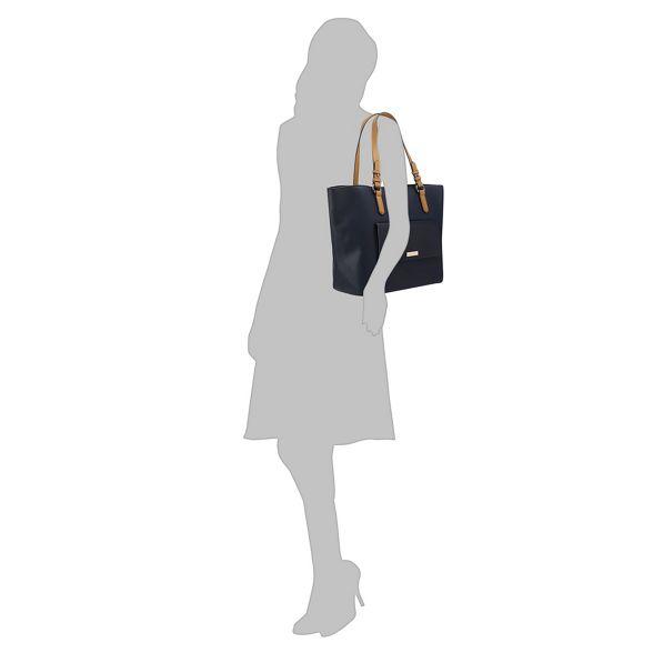 Principles bag shopper front pocket Navy 4YUwS4R