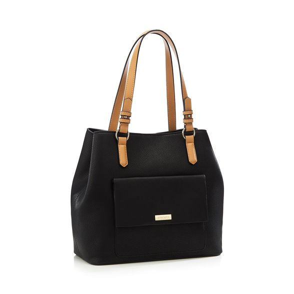 bag shopper pocket Principles front Black I48xxna