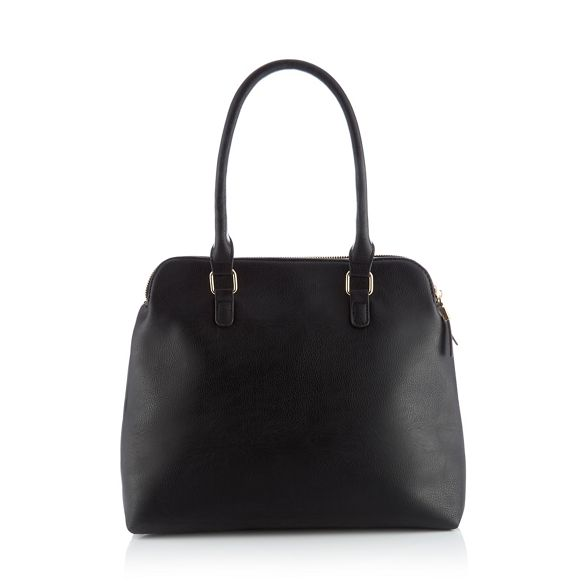 Black 'Kennedy' large faux bag grab Principles leather dTwvqdg